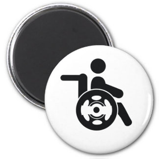 disability icon magnet