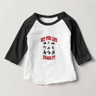 disability set for life baby T-Shirt