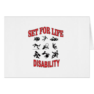 disability set for life card