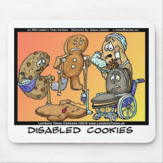 Disabled Cookies Funny Internet Gifts Tees Mugs Mouse Pad