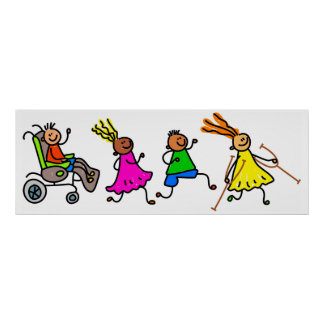 Disabled Kids Poster