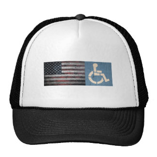 Disabled War Veteran. Cap