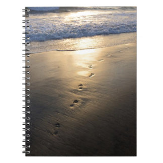 Disappearing Footprints Notebook