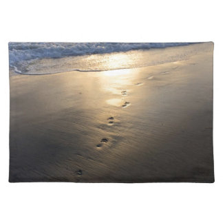 Disappearing Footprints Placemat