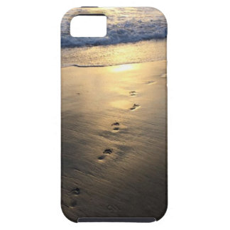 Disappearing Footprints Tough iPhone 5 Case