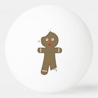 Disappearing Gingerbread Man Ping Pong Ball