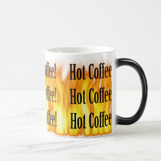 Disappearing Hot Coffee Mug