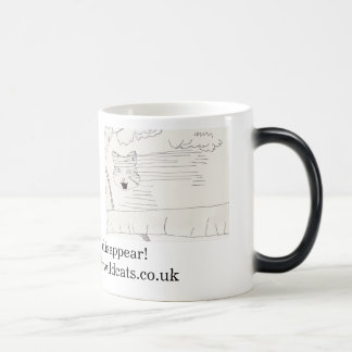 Disappearing Wildcats mug