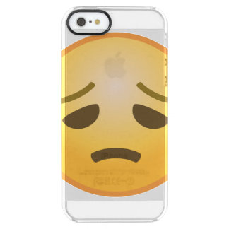 Disappointed Emoji Clear iPhone SE/5/5s Case