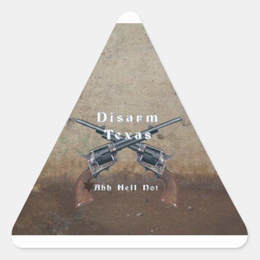 Disarm Texas Sticker