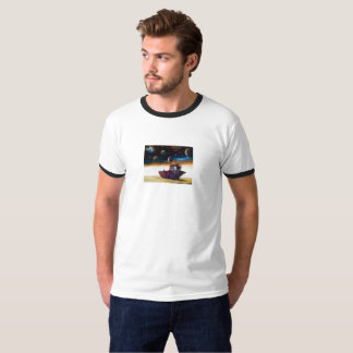 Disastrous state of Aral sea T-Shirt