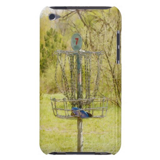 Disc Golf Basket 7 iPod Touch Case-Mate Case