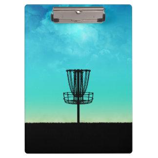 Disc Golf Basket Clipboards