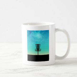 Disc Golf Basket Coffee Mug