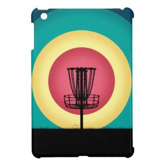 Disc Golf Basket Silhouette iPad Mini Covers