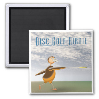 Disc Golf Birdie Magnet