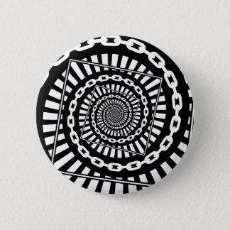 Disc Golf Chains 6 Cm Round Badge
