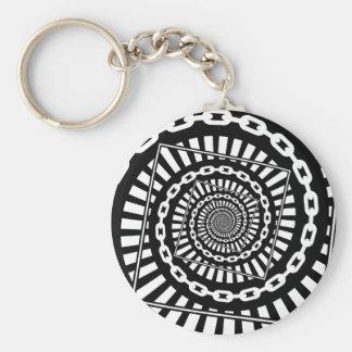 Disc Golf Chains Key Ring