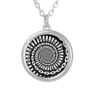 Disc Golf Chains Silver Plated Necklace