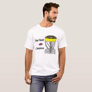 Disc Golf Champion mens t-shirt
