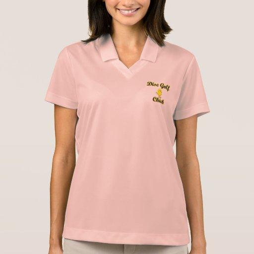 Disc Golf Chick Polo