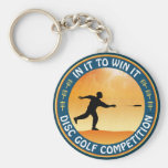 Disc Golf Competition Key Chain