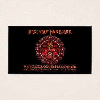 Disc Golf Hardcore Biz Cards