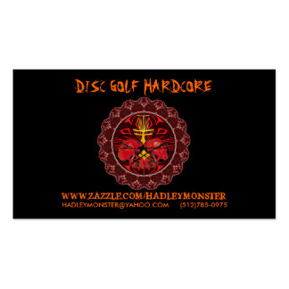Disc Golf Hardcore Biz Cards Pack Of Standard Business Cards
