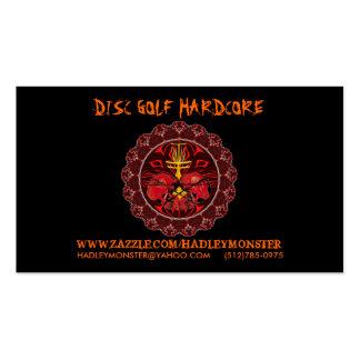 Disc Golf Hardcore Biz Cards Business Card Template