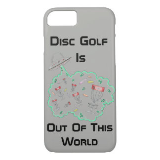 Disc golf is out of this world Iphone 7/8 case