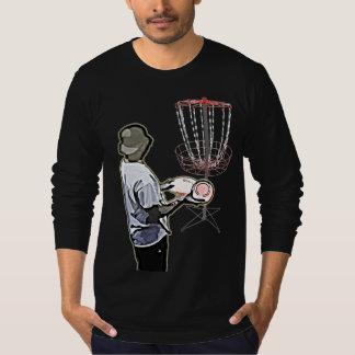 Disc Golfing Shirt for Men Long Sleeve