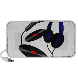 Disc Jockey logo iPod Speaker