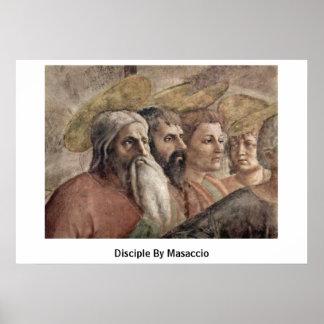 Disciple By Masaccio Print