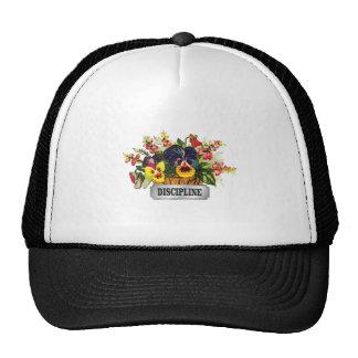 discipline flowers tag cap
