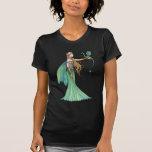 Discipline Green Fairy Dragon by Molly Harrison Tee Shirt
