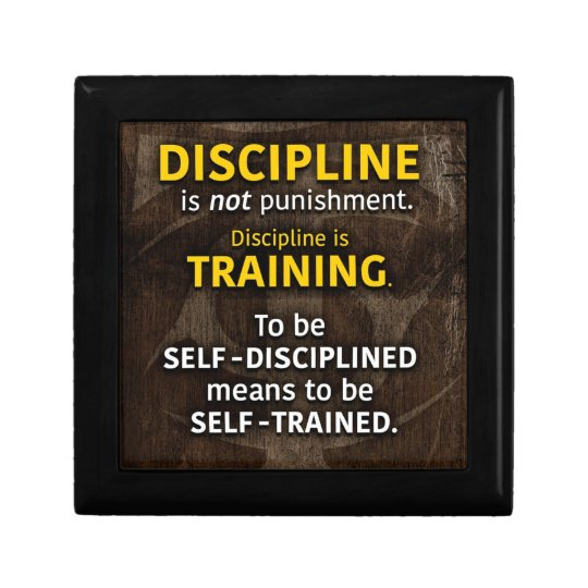 Discipline Is Training - Workout Gym Inspirational Gift Box