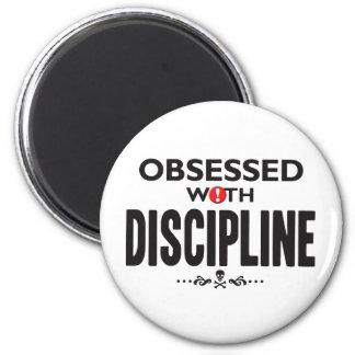 Discipline Obsessed 6 Cm Round Magnet