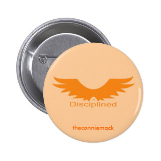 Disciplined Wings Button
