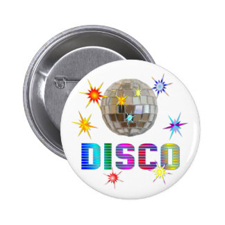 Disco 6 Cm Round Badge