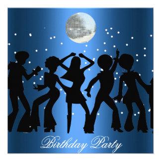 Disco 70 s Birthday Party Invitation Custom Invite