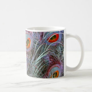Disco 70s Peacock Eyes Coffee Mug