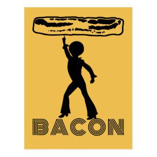 Disco Bacon Postcards