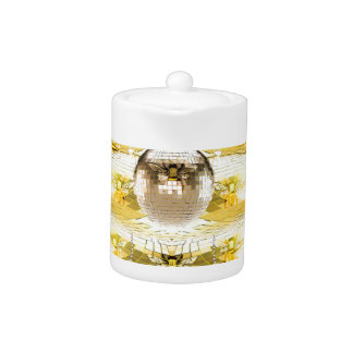 Disco Ball Bee Hive Pattern