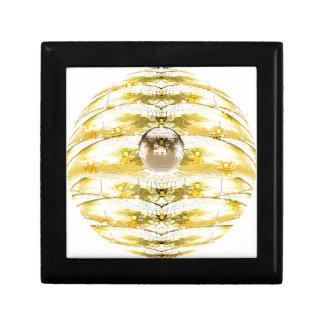 Disco Ball Bee Hive Pattern Gift Box