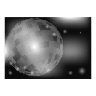 Disco Ball Custom Invitation