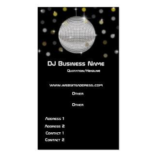 Disco Ball & Lights Business Card