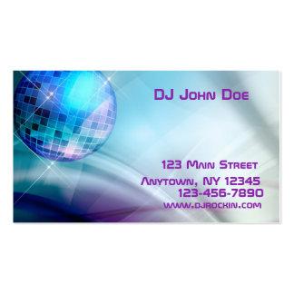 Disco Ball Music Business Card