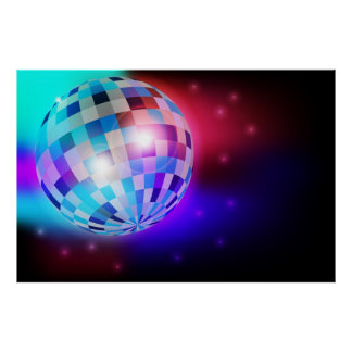Disco Ball Posters