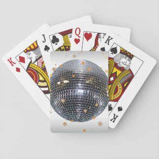 Disco Ball Retro 70s Style Playing Cards