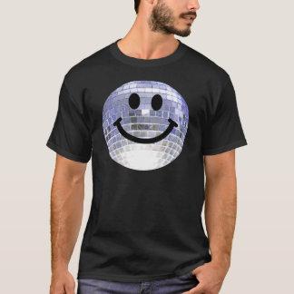 Disco Ball Smiley T-Shirt